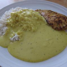 Currykastike kanalle
