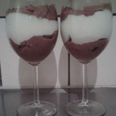Kahden suklaan mousse