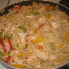 Spaghettinen kanapata