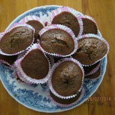 Suklaamuffinssit helppoa ja nopeaa tehdä