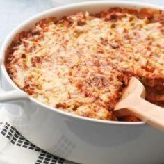 Nopea tortilla lasagne