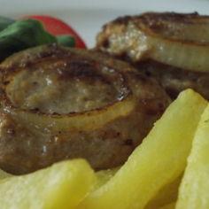 Jauhelihapihvi sipulivanteella