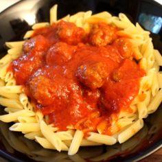 Tomaatti Lihapulla Pasta