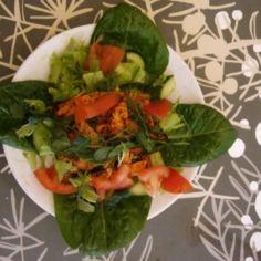 Crispy kana salaatti
