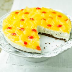Helppo appelsiini-juustokakku