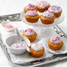 Kuningatar-cupcaket