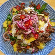 Tex-mex salaatti