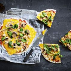 Pikapizza tortillalettuun