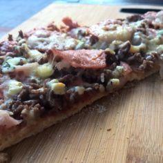 Grillattu pizza