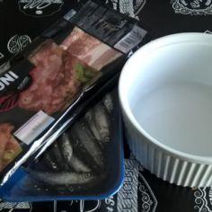 Patakukko (muikku ja pekoni)