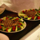 Grillattua tonnikalaa salaattipedillä