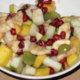 raikas hedelmäsalaatti