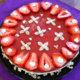 Mansikka-juustokakku / Strawberry Cheese Cake