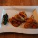 Pekonitäytteiset mustekalat tomaattikastikkeessa