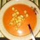 Valkosipulilla maustettu tomaattikeitto !
