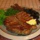 Huck's special porterhouse steak