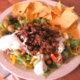 Ruokaisa Tex-Mex salaatti