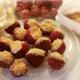 Juustokakkutäytteiset mansikat